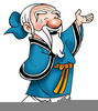 Wise Old Man Clipart Image