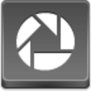 Free Grey Button Icons Picasa Image