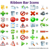 Ribbon Bar Icons Image