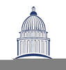 Clipart Capitol Building Image