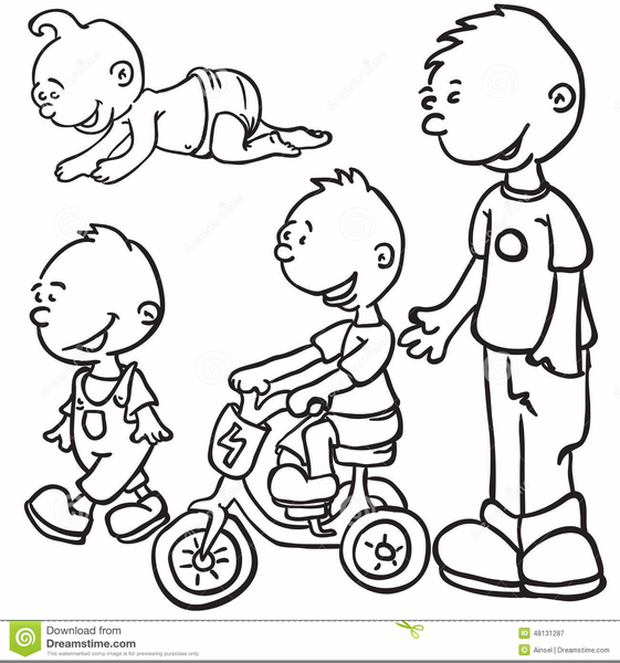 Growing Up Clip Art