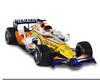F Racing Car Clipart Image