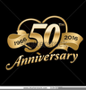 Free Christian Anniversary Clipart Image