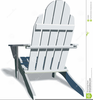 Adirondack Chair Clipart Image