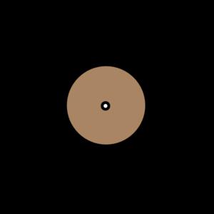 Solid Color Vinyl Record Clip Art at Clker.com  vector clip art