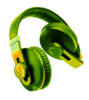 Awesome Green Headphones Image