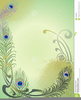 Peacock Feathers Clipart Free Image