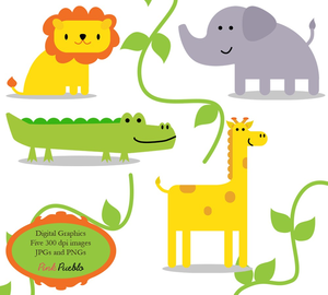 Animal Baby Clipart Zoo Image