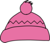 Pink Winter Hat Clip Art