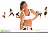 Stretching Exercise Clipart Image