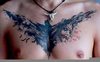 Cool Chest Tattoos Image