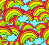 Bg Colorful Rainbows Image