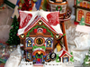 Free Clipart Christmas Gingerbread House Image