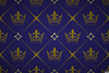 Crown Pattern Wallpaper Image