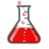 Redflask/bubbles/invisibox Clip Art