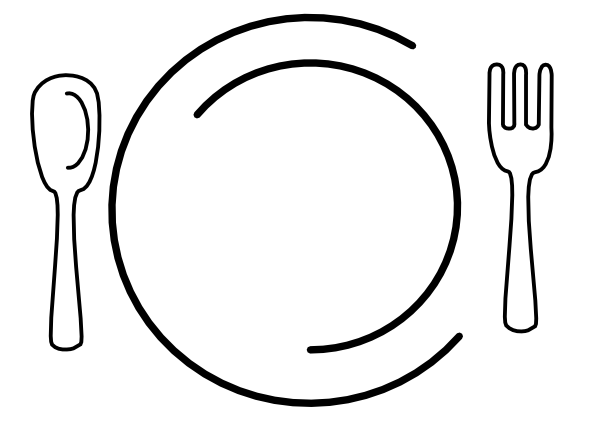 Empty Plate Cartoon Movie Plate Clip Art a...
