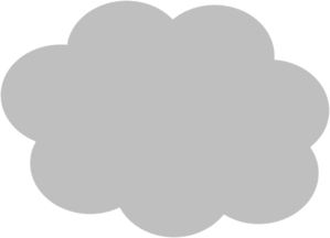 Cloud Silhouette Clip Art