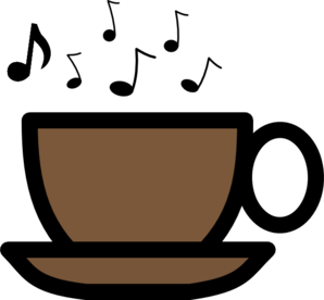 Musical Soup Cup 2 Clip Art
