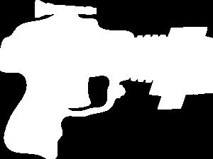 Laser Tag Gun White Clip Art at Clker.com - vector clip art online ...
