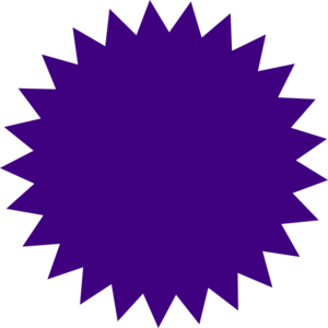 Purple Button Clip Art