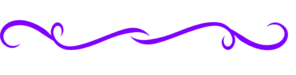Darker Purple Fancy Line Clip Art