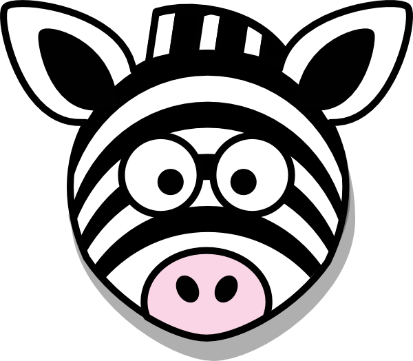 Zebra head cartoon images - photo#1