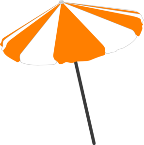 Beach Umbrella Clip Art at Clker.com - vector clip art ...