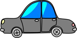 Car Grey Cartoon Transport Clip Art