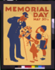 Memorial Day, May 30th  / Jcw. Clip Art