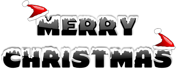 merry christmas banner png