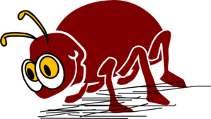 Red Bug Clip Art
