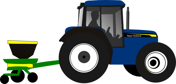 tractor clip art at clker com vector clip art online royalty free rh clker com tractor clip art black and white tractor clip art pictures