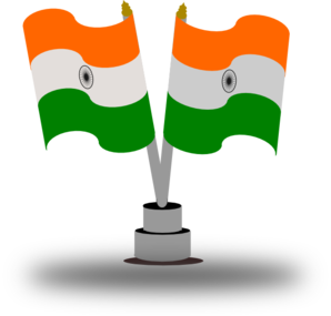 Indian Flag Clip Art