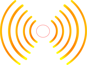 Radio Waves (hpg) Clip Art at Clker.com - vector clip art online ...