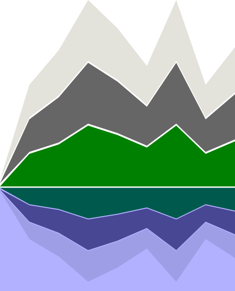 cartoon mountains clip artMountain Landscape Outline