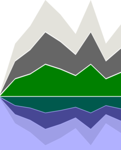 Mountain Landscape Clip Art