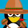 Mexican Penguin Clip Art