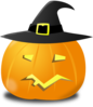 Witch Pumpkin  Clip Art