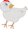 Chicken-001-figure-color Clip Art