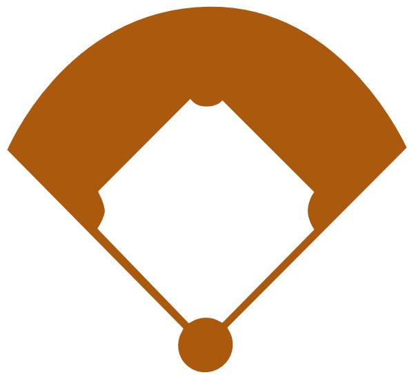 baseball field clip art at clkercom vector clip art
