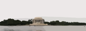 The Thomas Jefferson Memorial Built In 1943 Honoring The Third President Of The United States, Author Of The Declaration Of American Independence And Of The Statute Of Virginia For Religious Freedom, And Father Of The University Of Virginia Clip Art