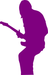 Rock Band Purple Clip Art
