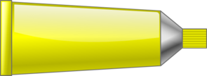 Color Tube Yellow Clip Art