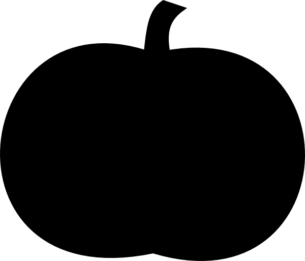 Black Pumpkin Clip Art at Clker.com - vector clip art ...