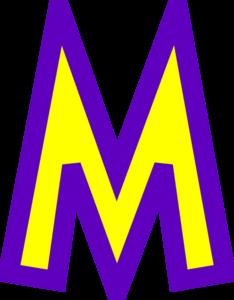 m letter clip art at clker com vector clip art online royalty rh clker com letter m clipart images letter m clipart images