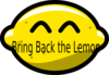 Bring Back The Lemon Clip Art