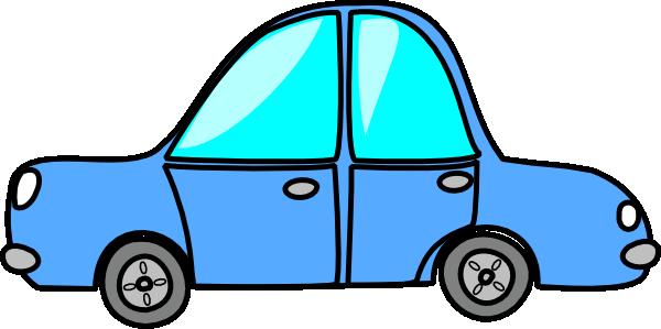 The Light Blue Car Clip Art At Clker Com Vector Clip Art