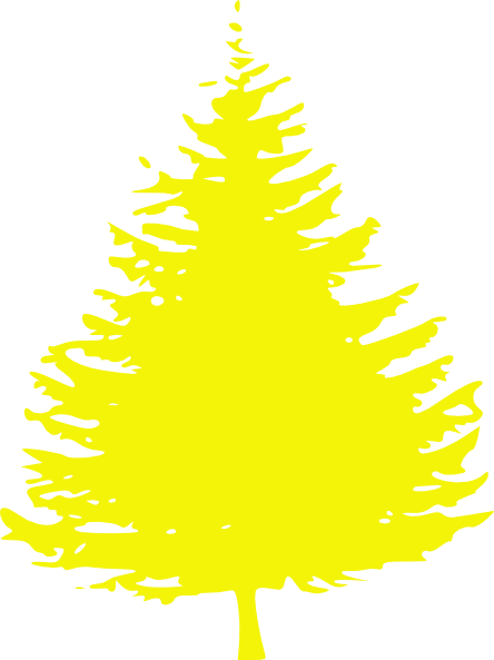 Short Tree Yellow Clip Art at Clker.com - vector clip art ...
