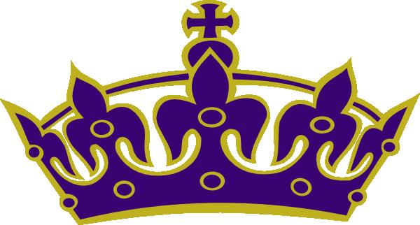 Purple Princess Pageant clip art