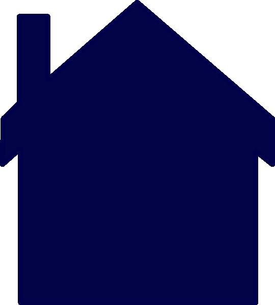clip art blue house - photo #36